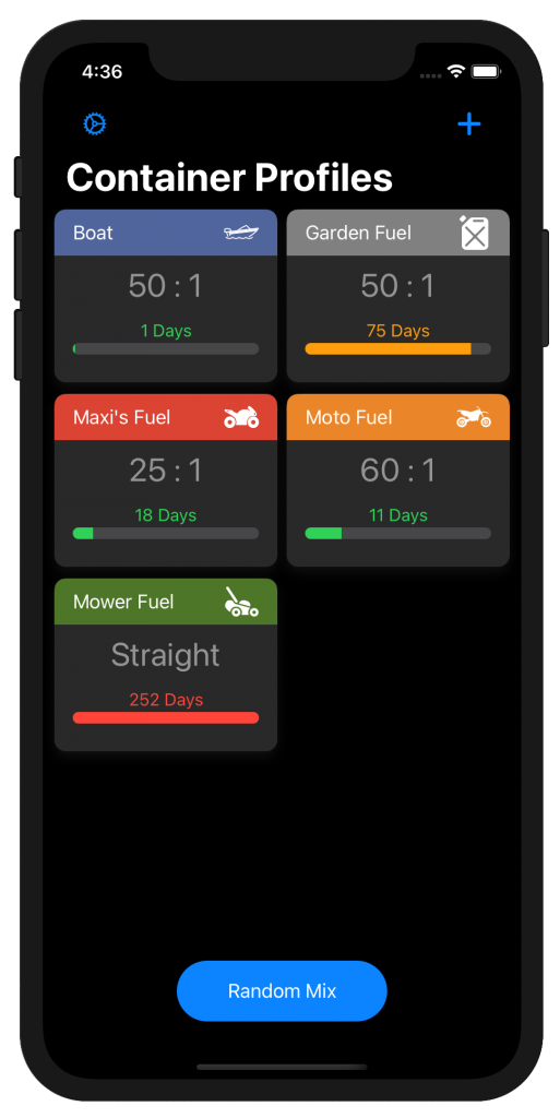 2 stroke premix calculator app