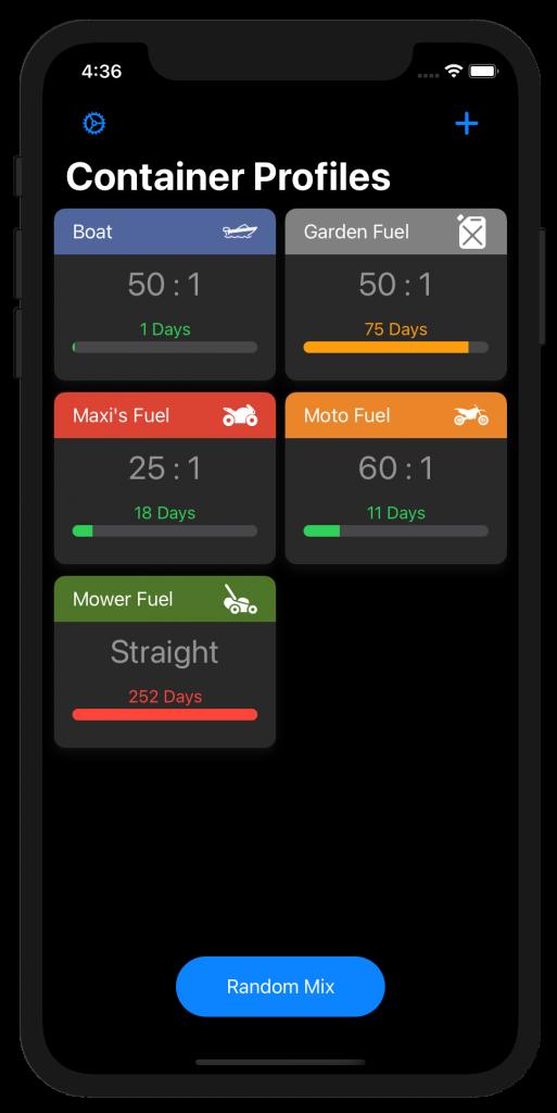 2 stroke premix calculator app